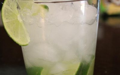 "While in Brazil, Eva Jo enjoys a ""Caipirinha"" get recipe"