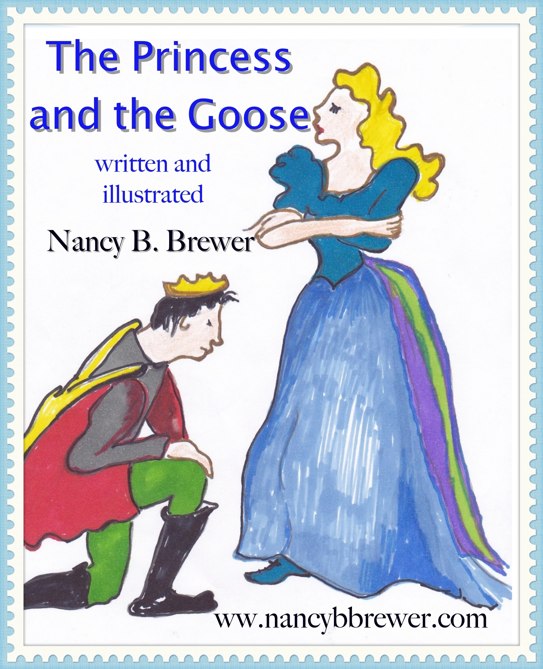 The Princess and the Goose - Children's Ebook