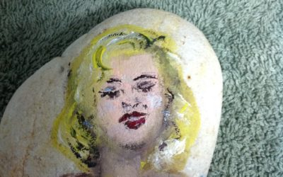 Painting Rocks in Myrtle Beach, SC- such a fun hobby